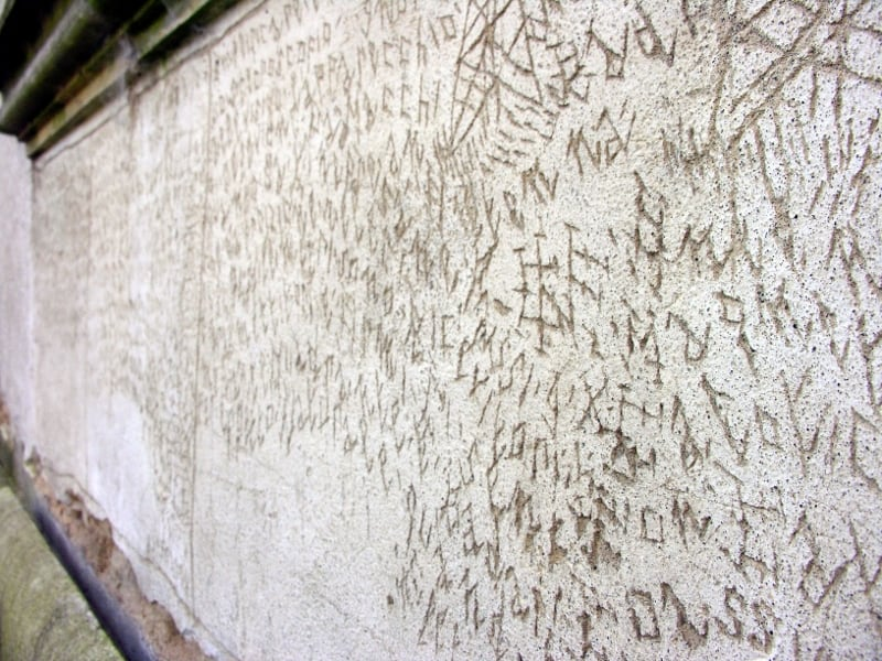Graffito Volterra
