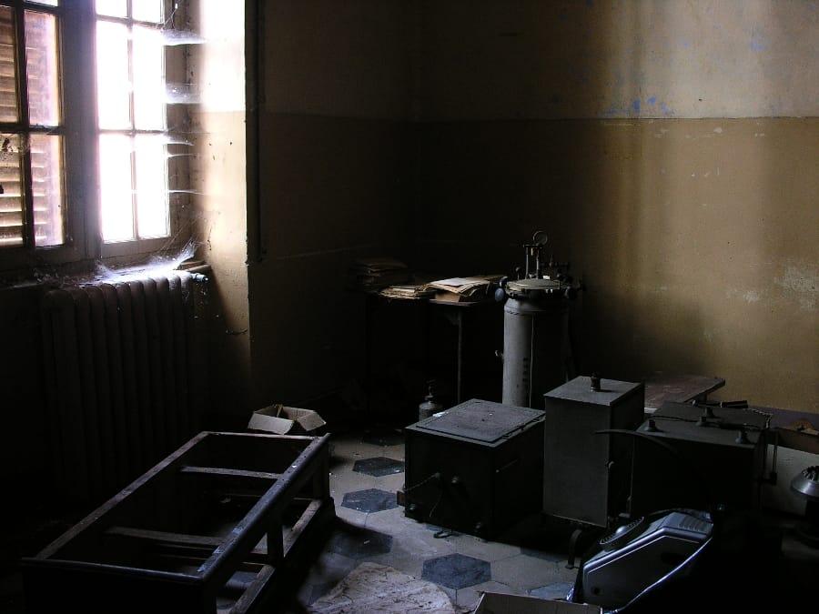 Materiale in stanza