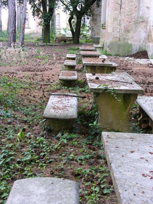 Giardino padiglione Ferri